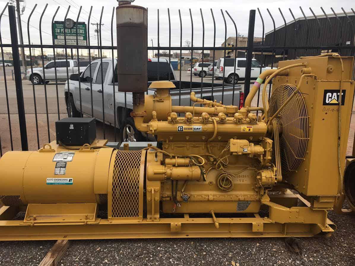 Caterpillar G3306 SI 150kW Generator Set – S&W Power Systems