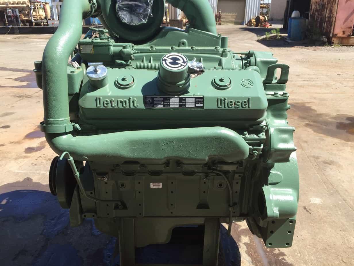 Detroit 8V92 TAB Silver Series Industrial Diesel Engine