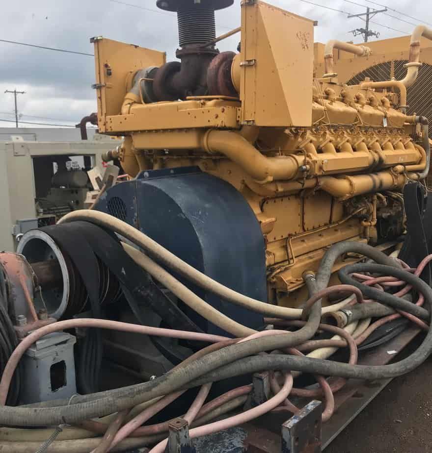 D-399B Caterpillar Power Unit w/ Mud Pump Drive – S&W Power Systems